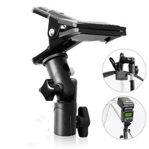 Multipurpose Speedlite Hot Shoe Bracket and Clamp Clip Holder for Reflec... - $22.65