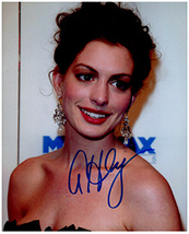 ANNE HATHAWAY  Authentic Original  SIGNED AUTOGRAPHED PHOTO w/ COA 608 - $45.00