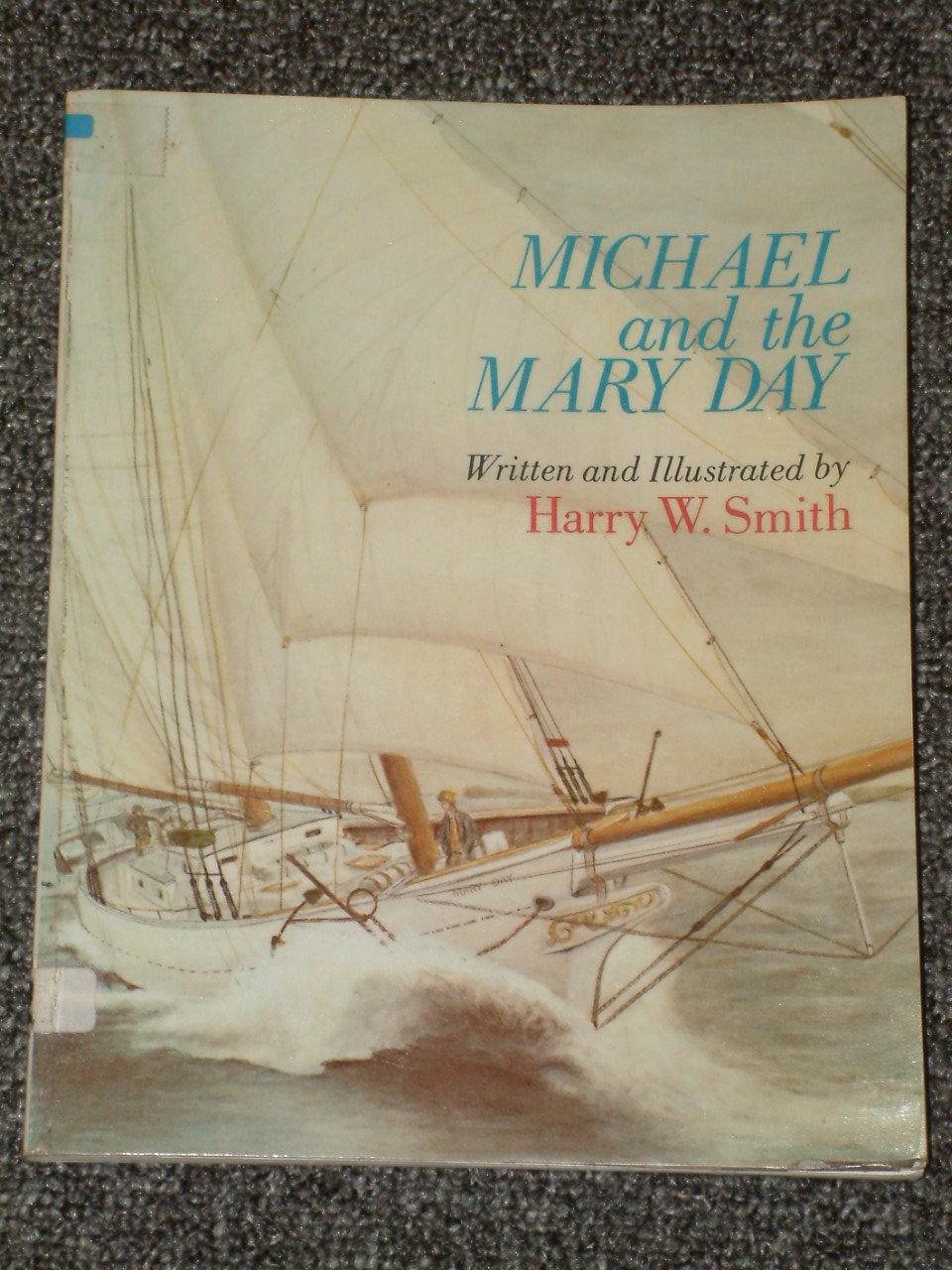 Michael and the Mary Day Harry W. Smith Camden Maine sailing