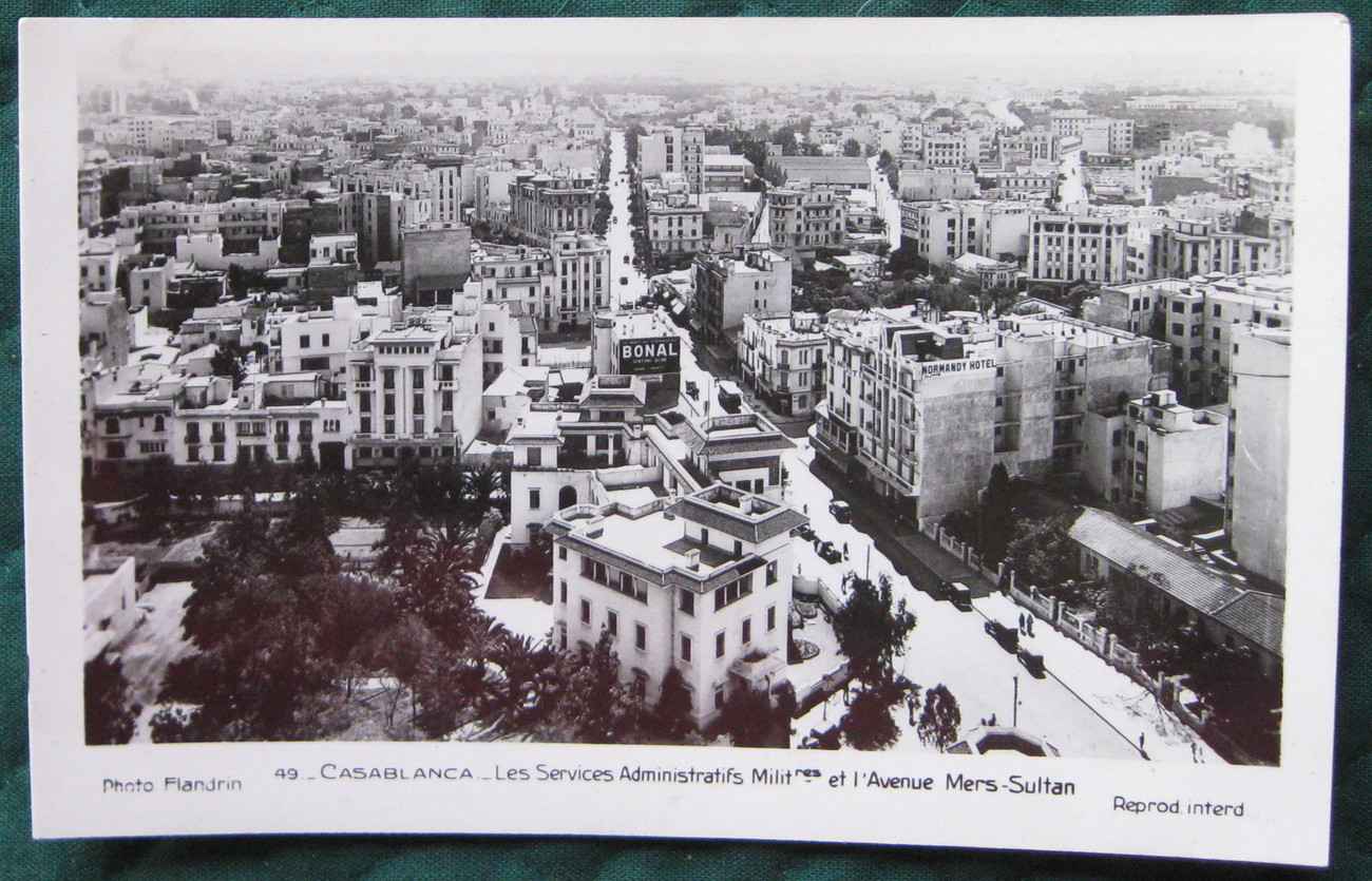 Primary image for RPPC (Real picture Post Card) Casablanca Morroco