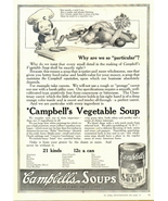 1937 Campbell's Vegetable Soup Campbell Kid print ad - $10.00