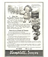 1943 Campbell's Tomato Soup Bunch of Tomato print ad - $10.00