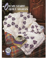 Oh My Stars Quilt Afghan Crochet Pattern Annies Crochet Quilt Afghan Club  - $8.50