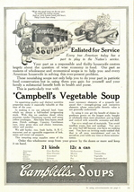 1938 Campbell's Vegetable Soup wise economy food print ad - $10.00