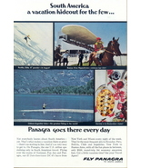 1962 Pan AM Grace Airways Panagra S America vacation ad - $10.00