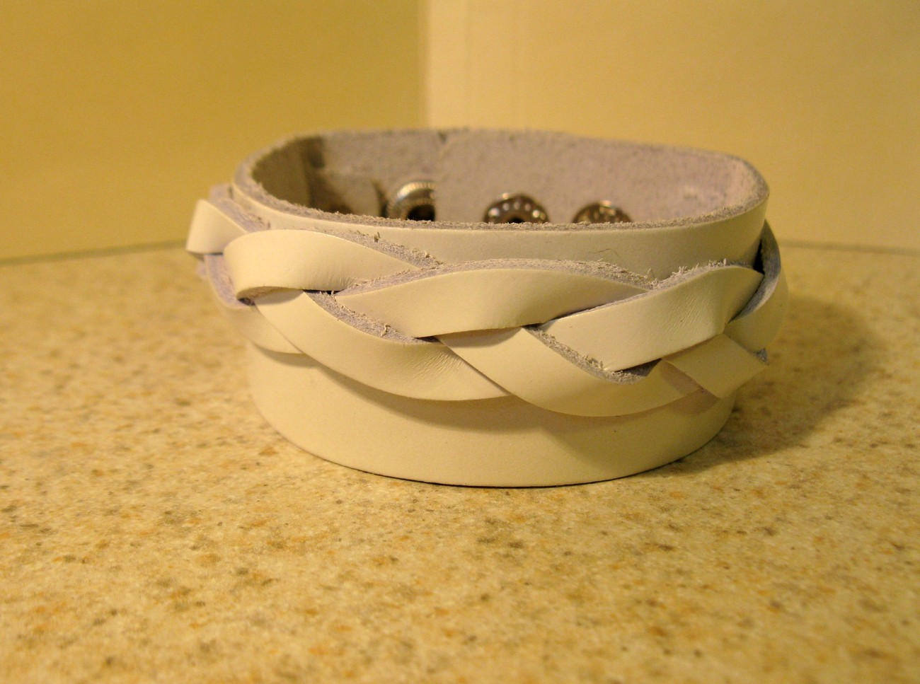 38 white braid