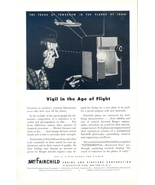 1944 FAIRCHILD Engine and Airplane Co. lab research print ad - $10.00