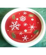 Longaberger Snowflake Coaster Holiday Pint Crock Lid - $8.50