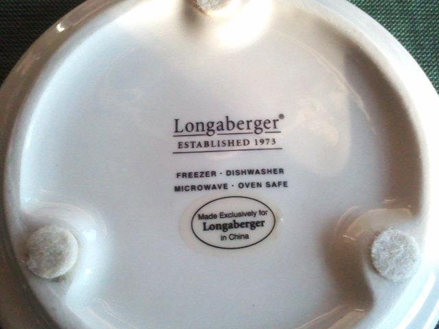 Longaberger Snowflake Coaster Holiday Pint Crock Lid