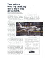 1973 Beechcraft King Air A100 Corporate jet print ad - $10.00