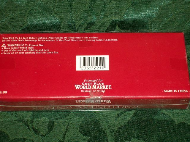 STAR FLOATER CANDLES from World Market - Brand New In Package image 4