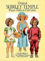 Vintage Paper Doll Book - Original Shirley Temp... - $5.99