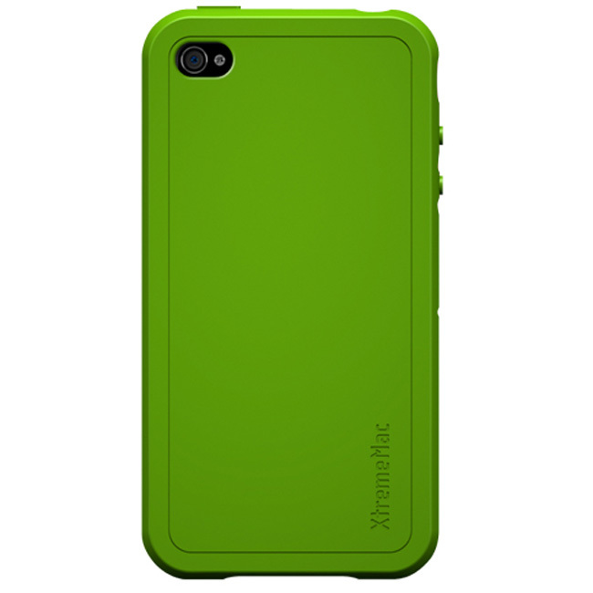 XtremeMac iPhone 4 Green Tuffwrap Silicone Case