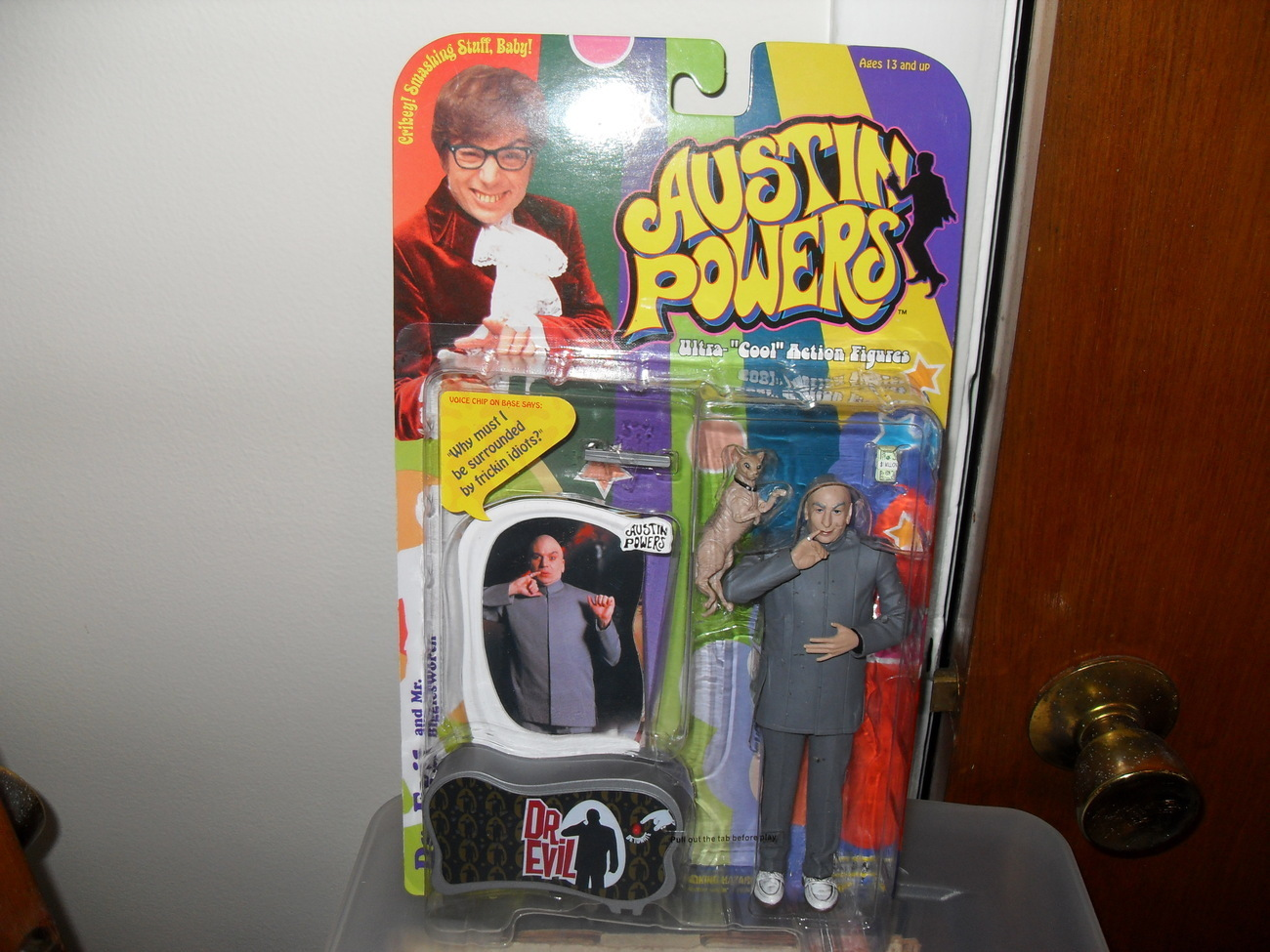 Primary image for 1999 McFarlane Austin Powers Dr. Evil Figure In The Package