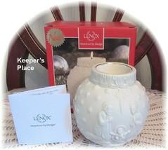 Lenox Ornamental Glow Nativity Votive Candle Holder Cream Gold Brand New - $18.00