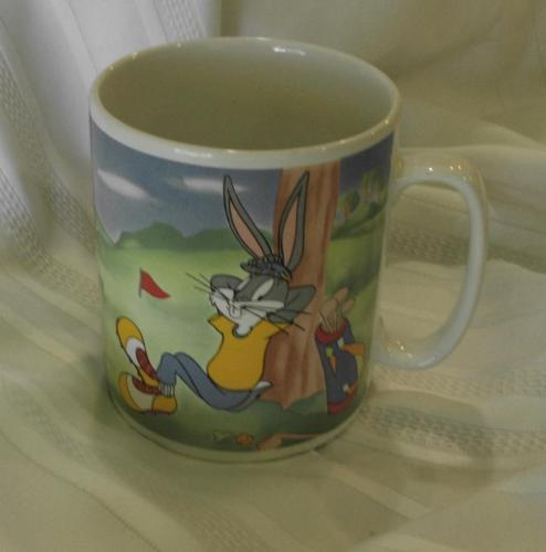 Warner Bros Bugs Bunny Daffy Duck Extra Giant Cup
