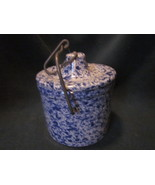 Storage Crock with Locking Top Bail Butter Cheeses, etc. 5 in tall - $21.00