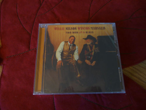 Willie Nelson Wynton Two Men With The Blues Sealed 2008 Cd