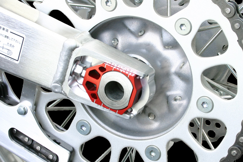 Zeta Axle Blocks Chain Adjuster YZ250F YZ450F YZ250 YZ450 YZ 250F 450F 250 450 F