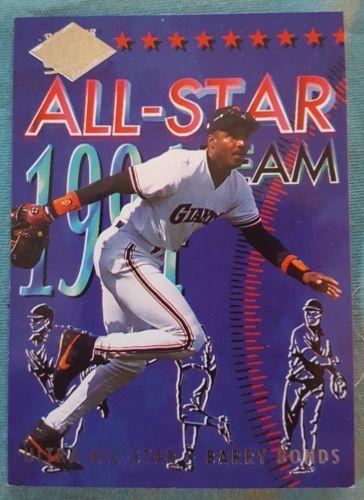 1994 Fleer Ultra All-Star Team 16 Barry Bonds San Francisco Giants Baseball Card