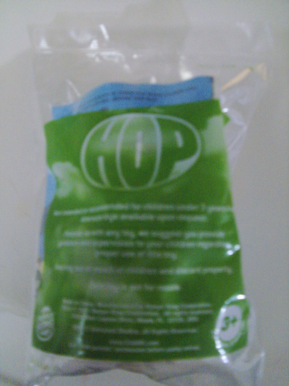 Hop Movie Drummin' E.B. Burger King toy - New