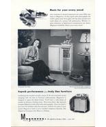 1946 Magnavox Radio Phonograph Rosalind Russell ad - $10.00