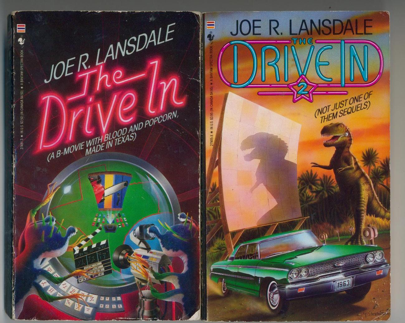 Lansdale - THE DRIVE-IN 1 & 2 - 1988/89 - 1st printings