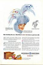 1946 GE General Electric Radios BETTY HUTTON print ad - $10.00