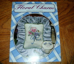 Floral Charm Supplement to Leisure Arts the Magazine Crochet - $5.00