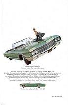 1965 Buick LeSabre le sabre 400 Convertible model ad - $10.00