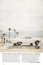 1964 GM Buick LeSabre 2 Door Convertible car print ad - $10.00