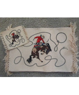 Bucking Horse / Cowboy Western Placemats ~ Set of 4 - $16.98