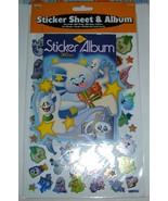 Halloween Ghost Sticker Sheet and Album-NIP's - $10.00
