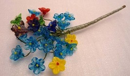 Bouquet of Glass Flowers The Everlasting Gift - $28.99