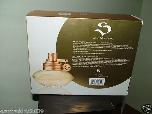*S* by Shakira 2 Pc Perfume Set  EDT 1.0 Oz/30 Ml, NIB