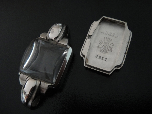 40'S ROLEX JUBILEE COLLECTION LADIES WATCH 4211  CASE COVER CRYSTAL
