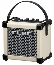Roland 413443E32 Micro Cube Battery Powered Guitar Amplifier White - $236.48