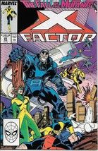 X-Factor Comic Book #25 Marvel Comics 1988 VERY FINE/NEAR MINT NEW UNREAD - $4.99