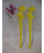 El Paso Cafe Vintage Swizzle Stir Sticks 2 Lachine Lake  - $4.99