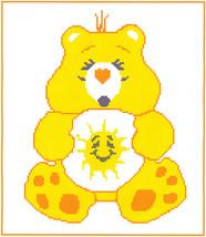 Funshine Bear Crochet Graph Afghan Pattern - $5.00