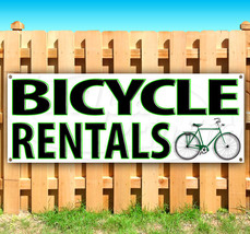 BICYCLE RENTALS Advertising Vinyl Banner Flag Sign Many Sizes USA - $14.24+