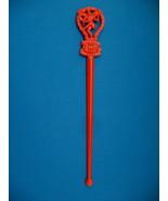 India TWA Airlines Vintage Swizzle Stir Stick Souvenir  - $2.99