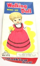 1960s Japan Wind-Up Walking Doll in Original Box - $39.95