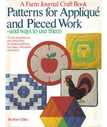 "A Farm Journal's Craft ""Patterns for Applique and Pieced Work"" - HC - $9.89"