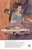 1966 Buick Electra 225 artistic art colour print ad - $10.00