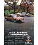 1983 GM Buick Skyhawk Limited Station Wagon print ad - $10.00