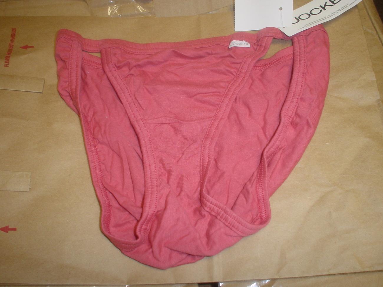 Jockey Cotton String Bikini 5/Small Rust SP-Slightly Imperfect NWOT