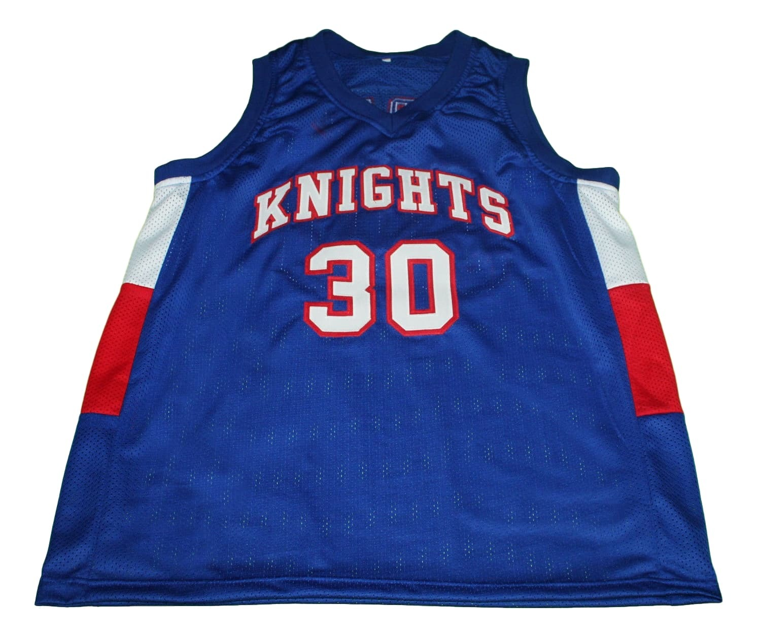 Stephen Curry #30 Knights High School New Men Basketball Jersey Blue Any Size