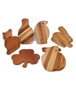 6 Pack of Small Cutting Boards, Stocking Stuffer, Holiday Giving Handcra... - $40.00