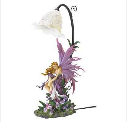 Orchid Fairy Petal Shade Table Lamp